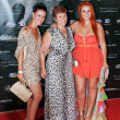 Постер, плакат: Sisters and mother footballer Ronaldo opening his disco Anniver