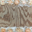 Royalty-Free Stock Photo: Christmas decorative frame texture.