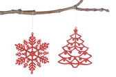 Decorative ornaments for the Christmas tree. — Stock Photo