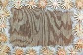 Texture de cadre décoratif de noël. — Photo