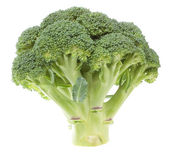 Vegetable broccoli on a white background. Close-up. — Stock Photo