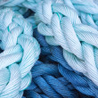 Royalty-Free Stock Photo: Thick rope marine close-up. Abstraction.