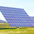 Large solar panels alternative energy. — Stock Photo