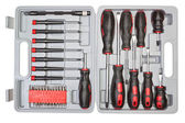 Box set of different tools for mechanics. — Stock Photo