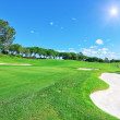 Стоковое фото: Luxury golf course for summer vacations.