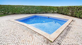 Outdoor pool, without anybody outside. — Stock Photo