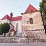 Roman Catholic Church of Saints Peter and Paul in Berezhany. Ukr — Stock Photo