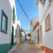 Ancient Street of the village of Ferragudo. Portugal, Portimao. — Stock Photo
