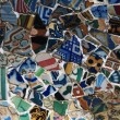 Mosaic in Barcelona — Stock Photo