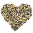 Heart of stones - Stock Photo
