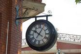 Outdoor wall clock  — Stock Photo
