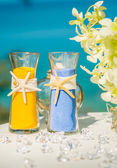 Wedding sand ceremony — Photo