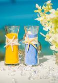Wedding sand ceremony — Stock Photo
