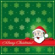 Royalty-Free Stock Vector Image: Christmas Santa Greeting card