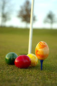 Golf Easter — Stockfoto