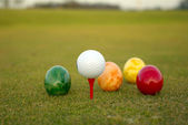 Golf Easter — Foto Stock