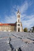 Velký kostel v keszthely — Stock fotografie