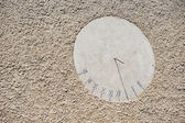 Sundial on the wall — Stock Photo