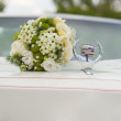Wedding car - Stock Photo