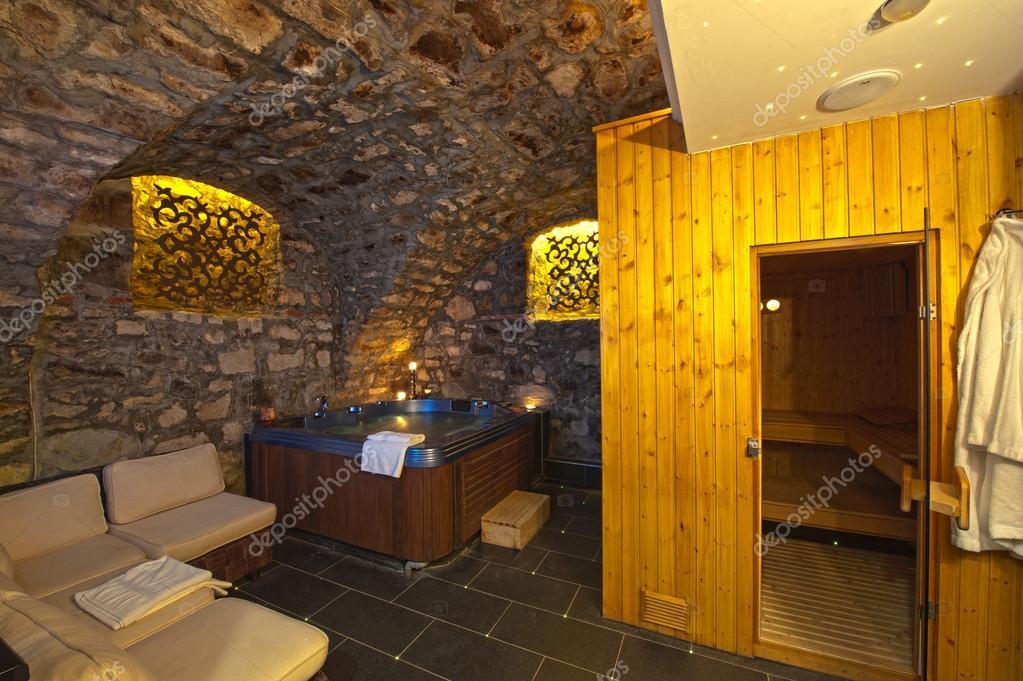 Sauna in bedroom