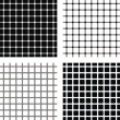 Four Optical illusions — Stock vektor
