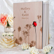 Guestbook for wedding — Stock Photo