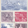 Sverige stamps — Stock Photo #21235523