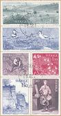 Sverige stamps — Stock Photo