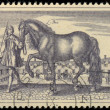 Old Engravings of Horses stamp, circ1969 — Stock Photo #21433403