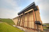 Strepy-Thieu boat lift — Stock Photo