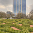 Botanical garden in Brussel — Stock Photo