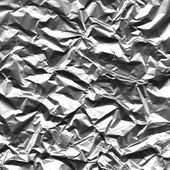 Aluminum foil background — Stock Photo