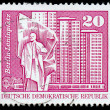 GDR - CIRCA 1973: A stamp printed in DDR (East Germany) shows Pl — Stock Photo