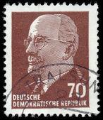 GERMAN DEMOCRATIC REPUBLIC - CIRCA 1961: A stamp printed in Germ — Stock Photo