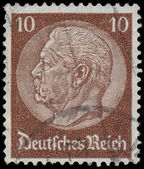 GERMANY - CIRCA 1933: A stamp printed in Germany shows portrait — Stock Photo