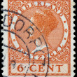 Постер, плакат: NETHERLANDS CIRCA 1928: A stamp printed in Netherlands shows p