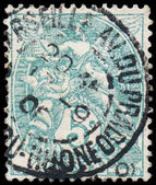 FRANCE CIRCA 1900-1924: A stamp printed in France shows Themis - — Foto Stock