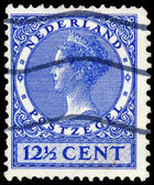 NETHERLANDS - CIRCA 1928: A stamp printed in Netherlands shows p — 图库照片