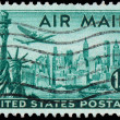 USA - CIRCA 1947: A stamp printed in United States of America sh — Stock Photo #39274575
