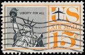Estados unidos - alrededor de 1950: un sello impreso en estados unidos. s — Foto de Stock