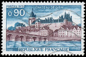 FRANCE - CIRCA 1973: A stamp printed in France shows Chateau de — Foto de Stock