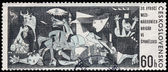 CZECHOSLOVAKIA - CIRCA 1966: A postage stamp printed in the Czec — Stock Photo