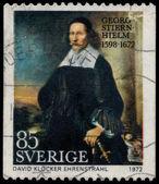 SWEDEN - CIRCA 1972: stamp printed by Sweden, shows Georg Stiern — Stock Photo