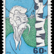 CZECHOSLOVAKIA - CIRCA 1968: A stamp printed in the Czechoslovak — Stock Photo