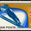 "HUNGARY - CIRCA 1975: A stamp printed in Hungary from the ""Winte — Stock Photo #40981941"