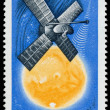 Stock Photo: HUNGARY - CIRC1965: stamp printed in Hungary shows Space Exp