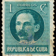 Stock Photo: CUB- CIRC1917: stamp printed in Cubshows image of Jo
