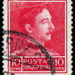 ALBANIA - CIRCA 1930: postage stamp printed in Albania showing a — Stock Photo