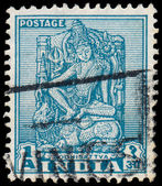 INDIA - CIRCA 1950: a stamp printed in India shows Bodhisattva,  — Stock Photo