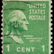 USA - CIRCA 1938: Postage stamp printed in the USA, a portrait o — Stock Photo #42015515